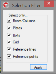 Selection filter